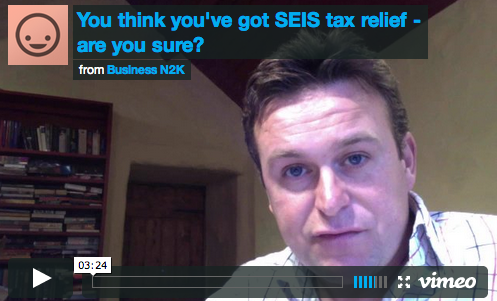 Think you've got SEIS tax relief – are you sure?