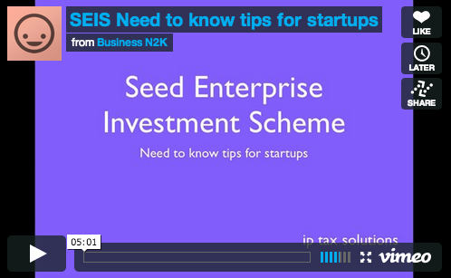 SEIS | Need to know facts for startups