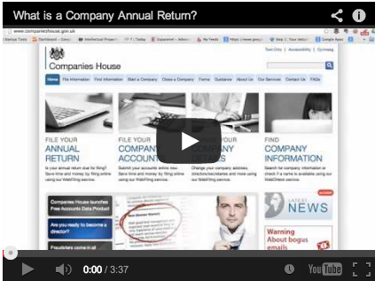 What is a Company Annual Return?