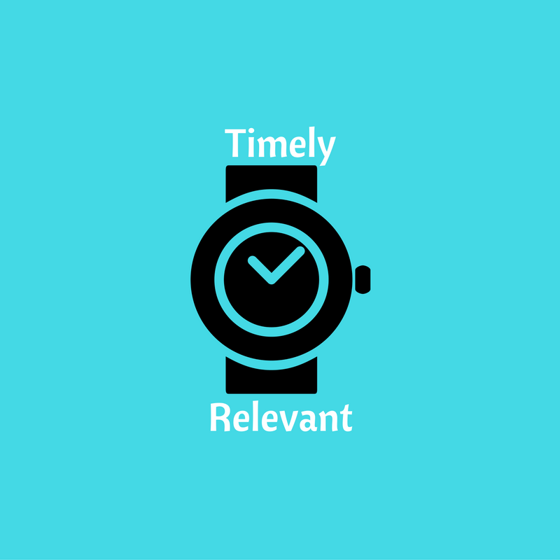 Can You Be Timely and Relevant to Your Clients?